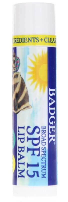 Badger Company Broad Spectrum Lip Balm Spf 15