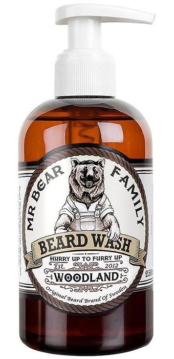 MR BEAR Woodland Beard Shampoo