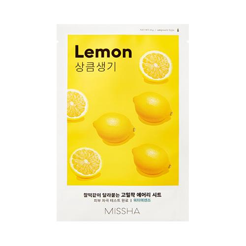 Missha Airy Fit Sheet Mask (Lemon)