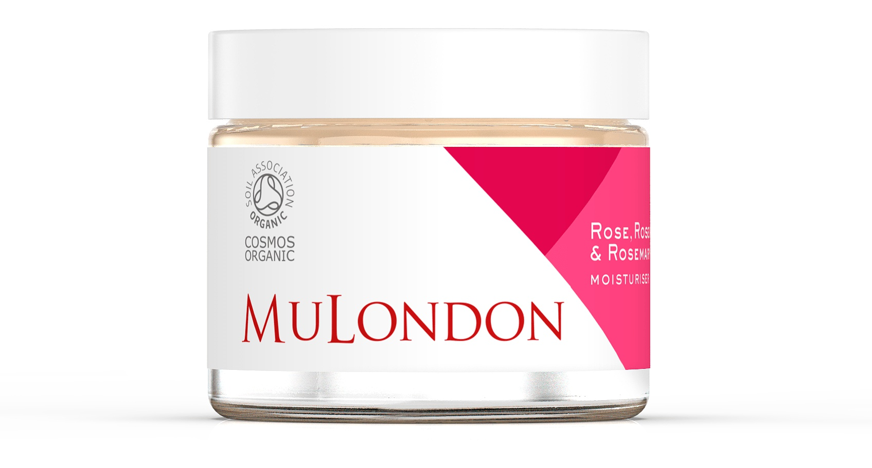 MuLondon Rose, Rosehip & Rosemary Moisturiser