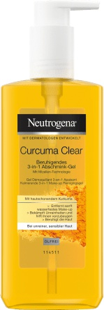 Neutrogena Mizellen-Gel Curcuma Clear