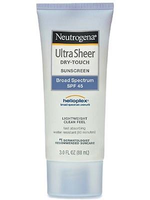 Neutrogena Ultra Sheer® Dry-Touch Sunscreen Broad Spectrum Spf 45