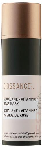 BIOSSANCE Squalane + Vitamin C Rose Mask