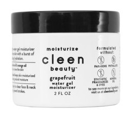 cleen beauty Grapefruit Water Gel Moisturizer