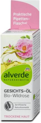 alverde Face Oil Gesichts-Öl Bio Wildrose