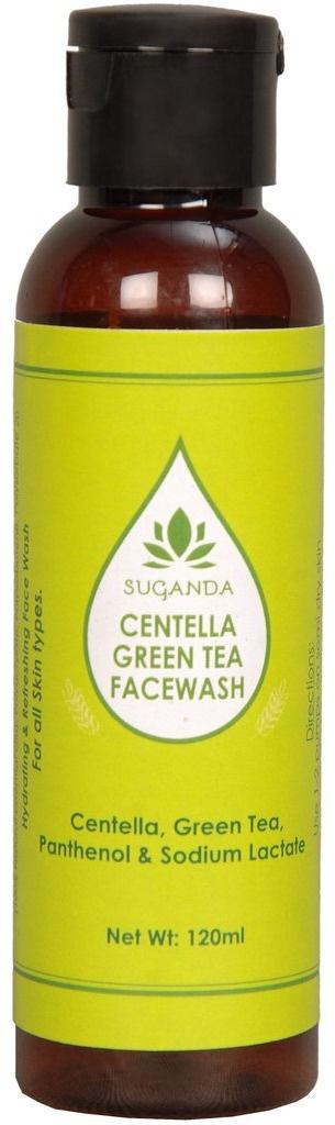 Suganda skincare Centella Green Tea Facewash
