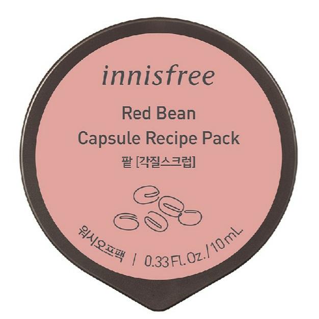 innisfree Red Bean Capsule Recipe Pack