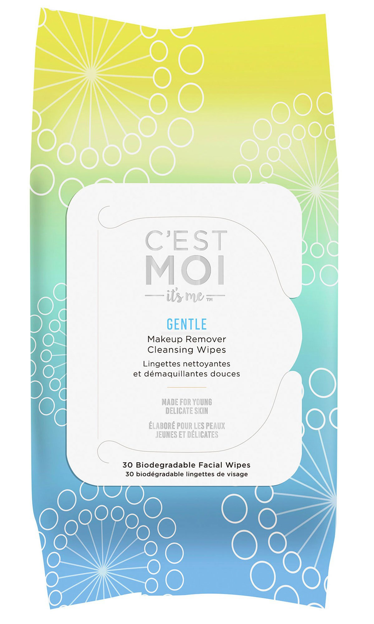 C'est Moi Gentle Makeup Remover Cleansing Wipes