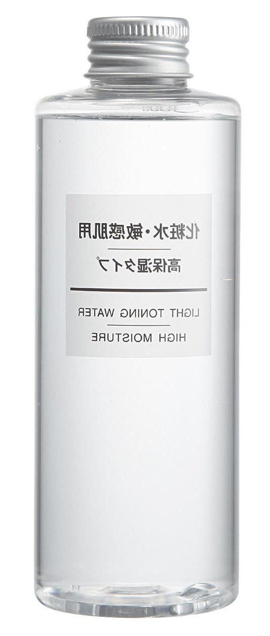 Muji Sensitive Skin Light Toning Water High Moisture