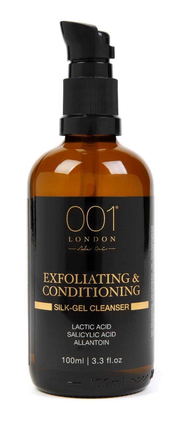 001 skincare Exfoliating & Conditioning Silk-Gel Cleanser