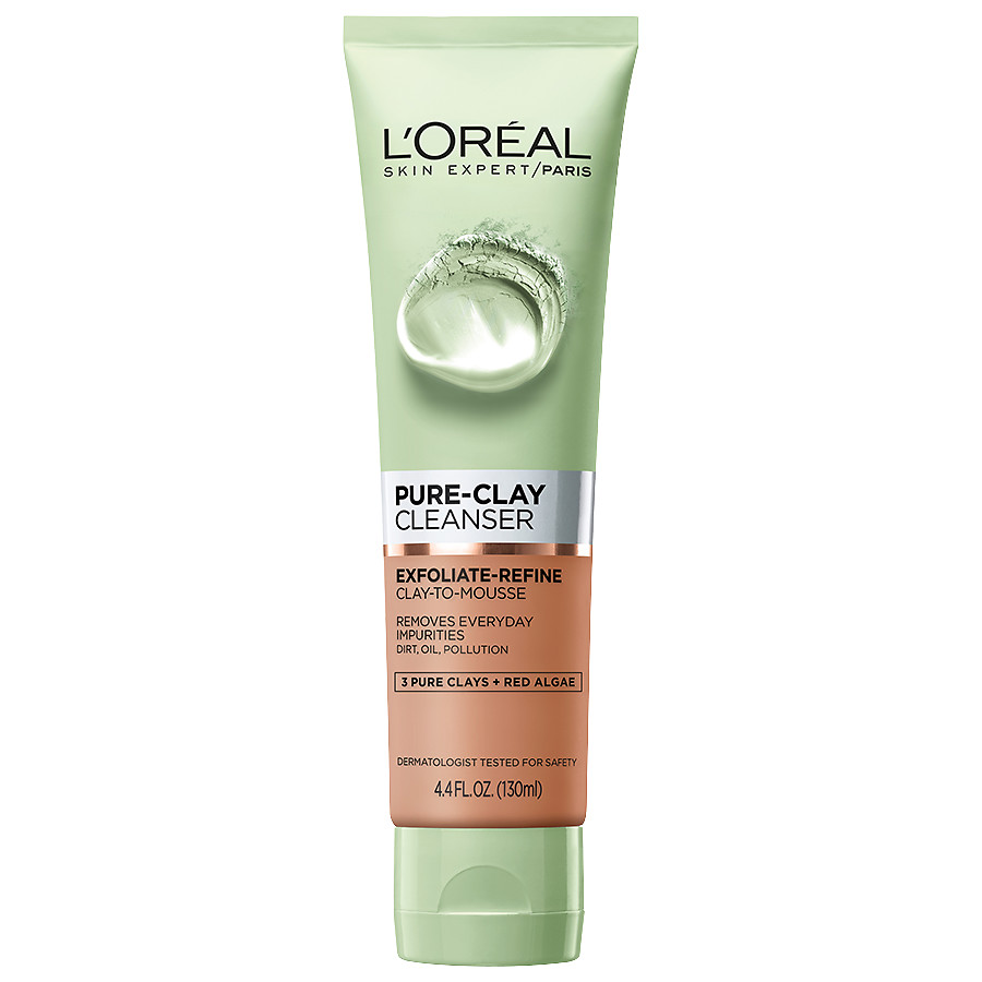 L'Oreal Pure Clay Cleanser Exfoliate & Refine