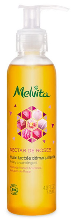 MELVITA Organic Rose Milky Cleansing Oil