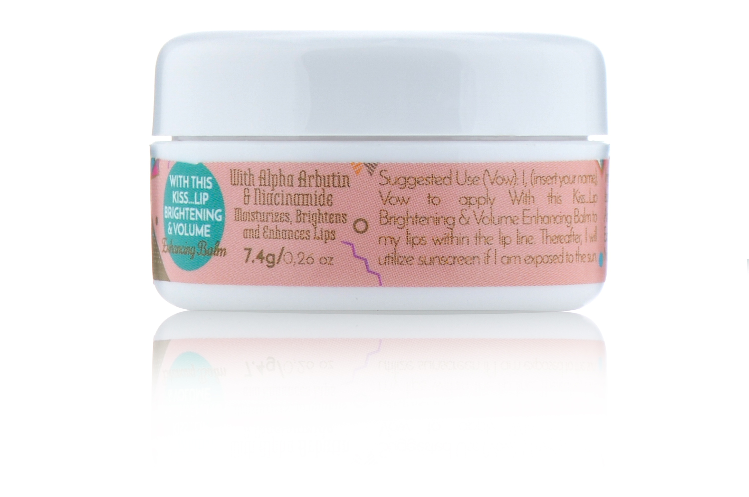 Vow Beauty With This Kiss...Lip Brightening & Volume Enhancing Balm