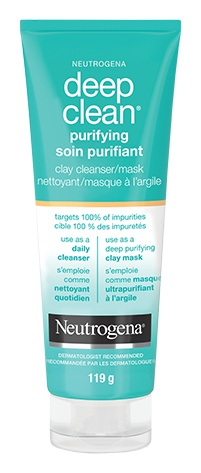 Neutrogena Deep Clean Purifying Clay Cleanser/Mask