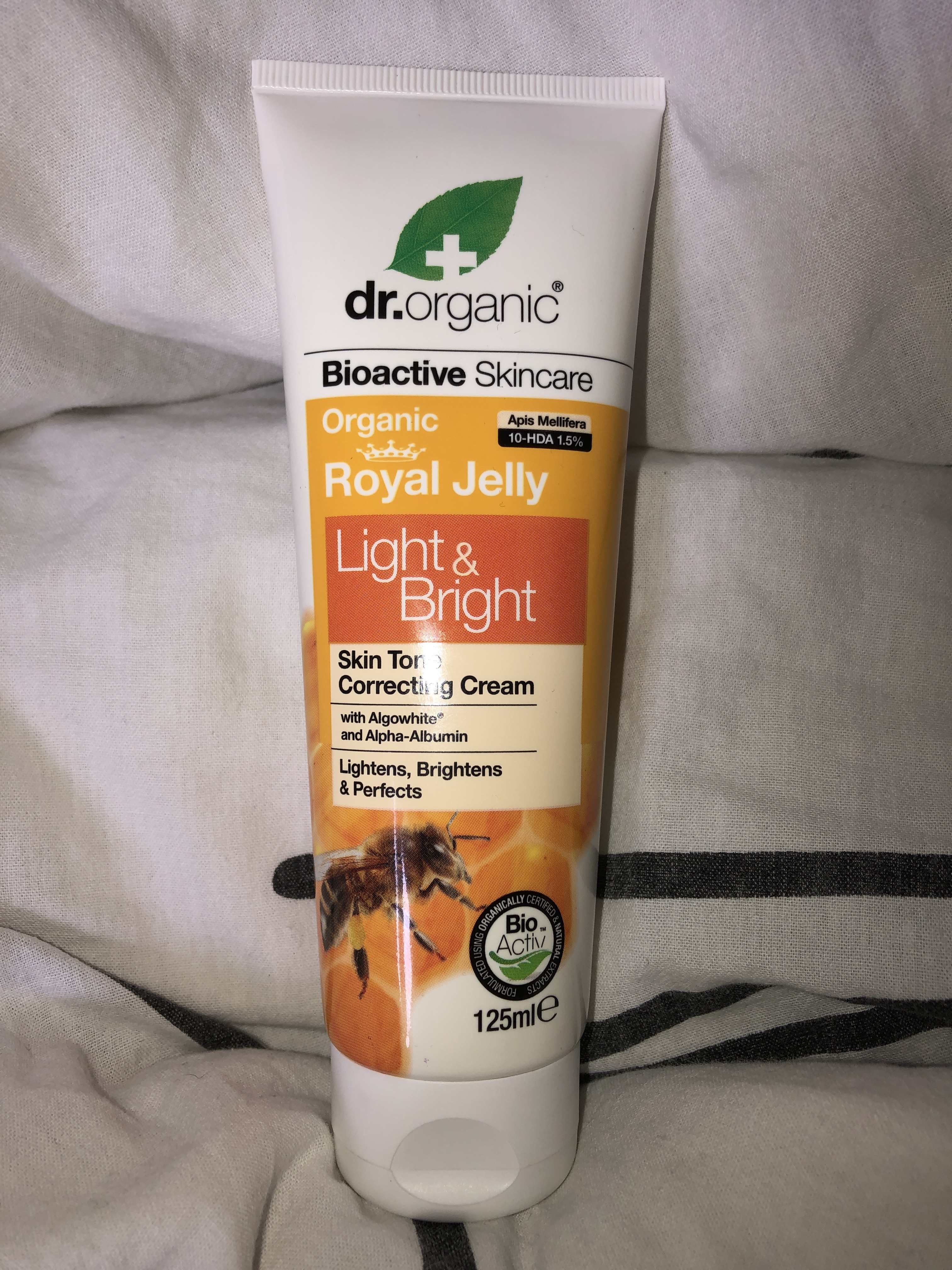 Dr Organic Royal Jelly Light & Bright