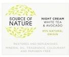 (Sainsburys) Source of Nature Source Of Nature Day Cream White Tea & Liquorice