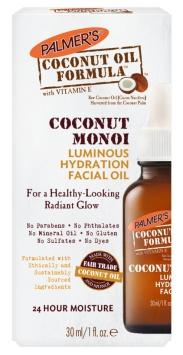 Palmer's Coconut Oil Formula Coconut Monoi Luminous Hydration Facial Oil