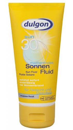 Dulgon SPF 30 Sun Fluid For Face And Decollete