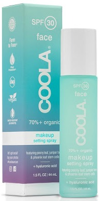 Coola Makeup Setting Spray Organic Sunscreen Spf 30