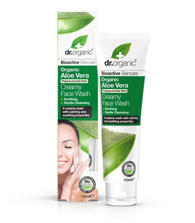 Dr Organic Aloe Vera Creamy Face Wash