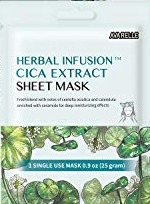 Avarelle Herbal Infusion Cica Extract Sheet Mask