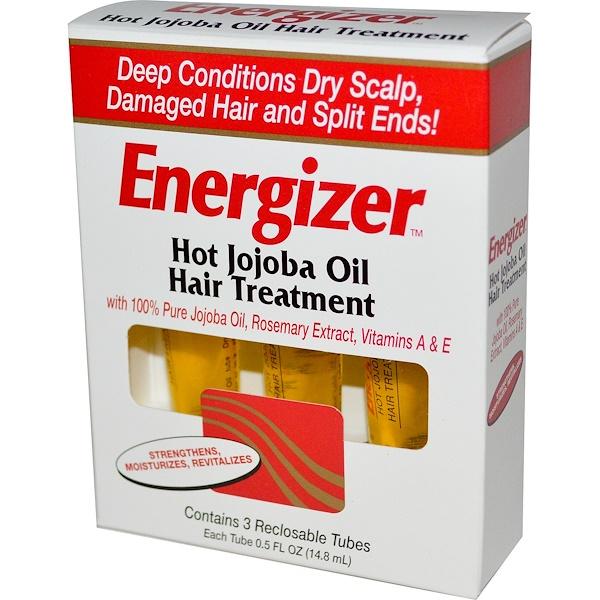 Hobe Labs Energizer Hot Jojoba Oil Hair Treatment