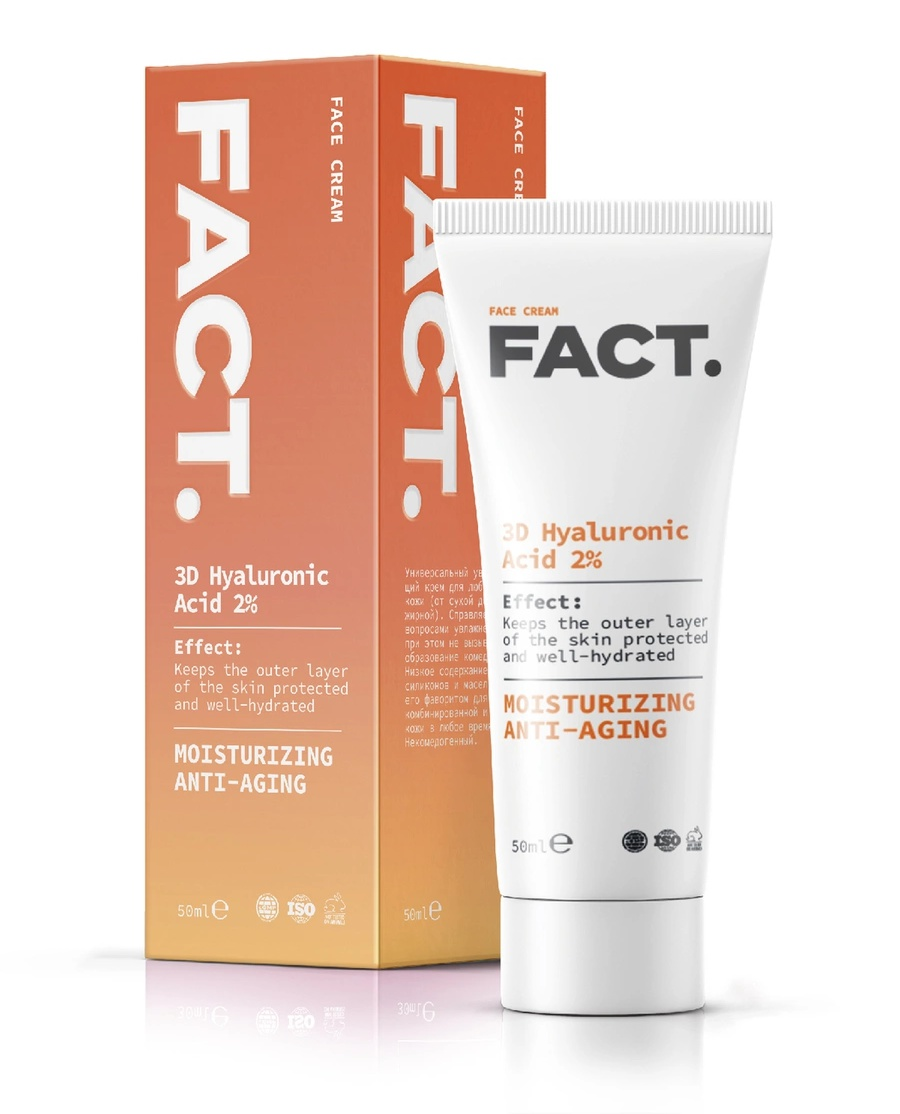 FACT Cream With 3D Hyaluronic Acid 2%