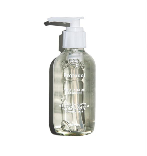 Protocol Double Alpha Hydroxy Cleanser With Green Tea Extract And Aloe