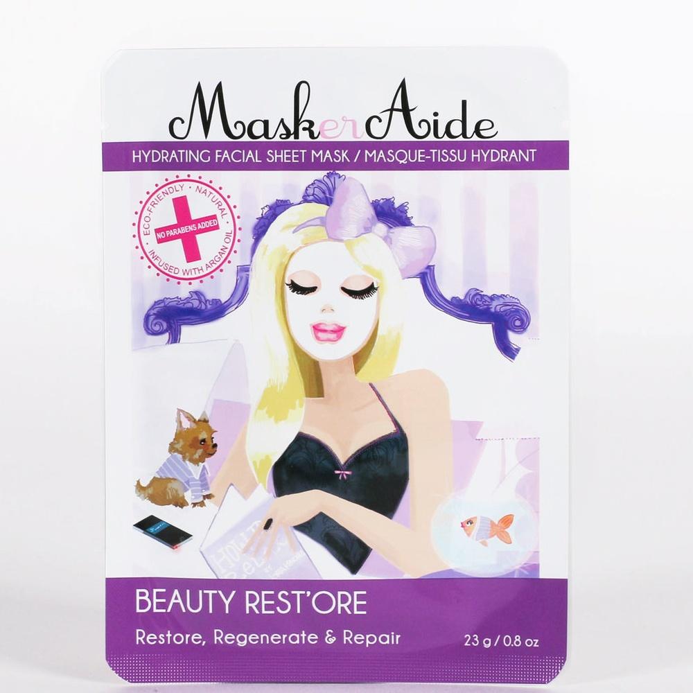 MaskerAide Beauty Rest'Ore Hydrating Sheet Mask