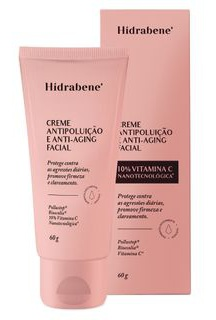 Hidrabene Creme Antipoluição Anti-Aging Facial