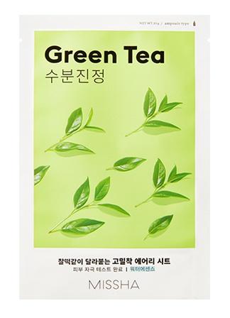 Missha Airy Fit Sheet Mask (Green Tea)