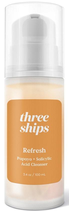 Three Ships Refresh Papaya + Salicylic Acid Cleanser