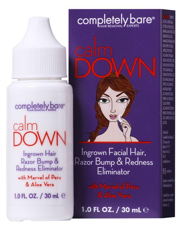 Completely Bare Calm Down Ingrown Hair, Razor Bump & Redness Eliminator