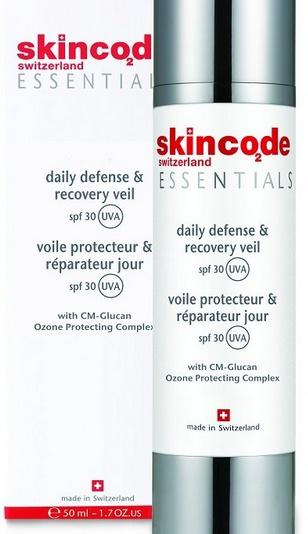 Skincode Essentials Daily Defense & Recovery Veil Spf 30