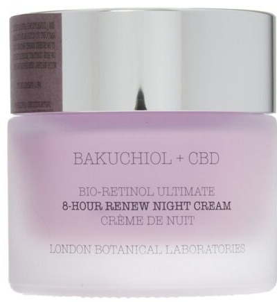 London Botanical Laboratories Bakuchiol + Cbd Bio-Retinol Ultimate 8-Hour Renew Night Cream