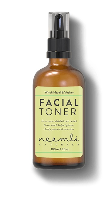 Neemli Naturals Witch Hazel & Vetiver Pore Refining Facial Toner