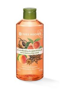 Yves Rocher Energizing Peach Star Anise Shower Gel
