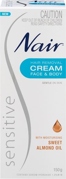 Nair Sensitive Hair Removal Cream