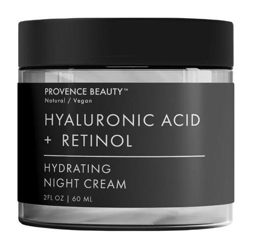 Provence Beauty Hyaluronic Acid + Retinol Hydrating Night Cream