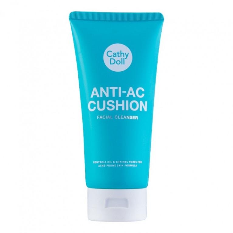 Cathy Doll Anti Acne Cushion Facial Foam Cleanser