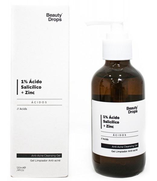 Beauty Drops 1% salicylic acid + zinc cleanser