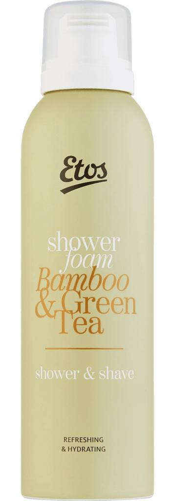 Etos Green Tea & Bamboo Shower Foam