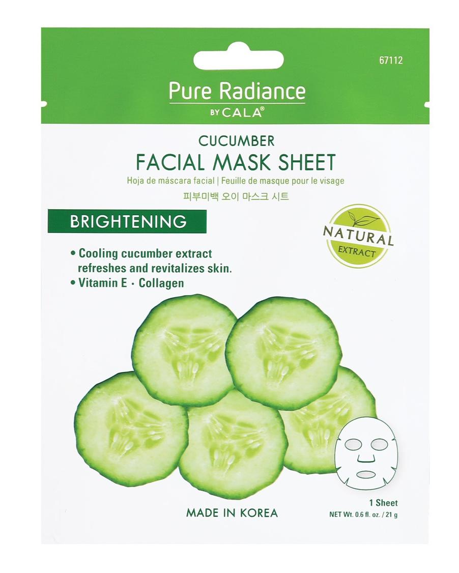 Cala Pure Radiance Facial Mask: Cucumber