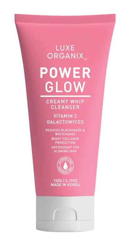 Luxe Organix Power Glow Creamy Whip Cleanser