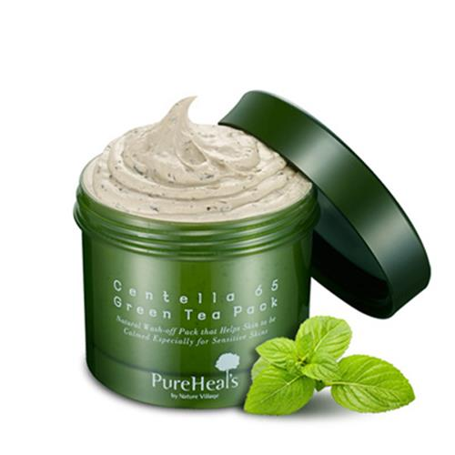 PureHeal's Centella 65 Green Tea Pack
