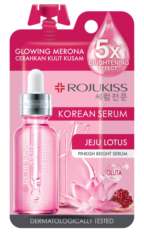 Rojukiss Jeju Lotus Pinkish Bright Serum