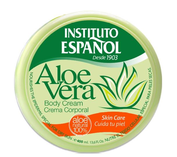 Instituto Español Creme Corporal Aloe Vera