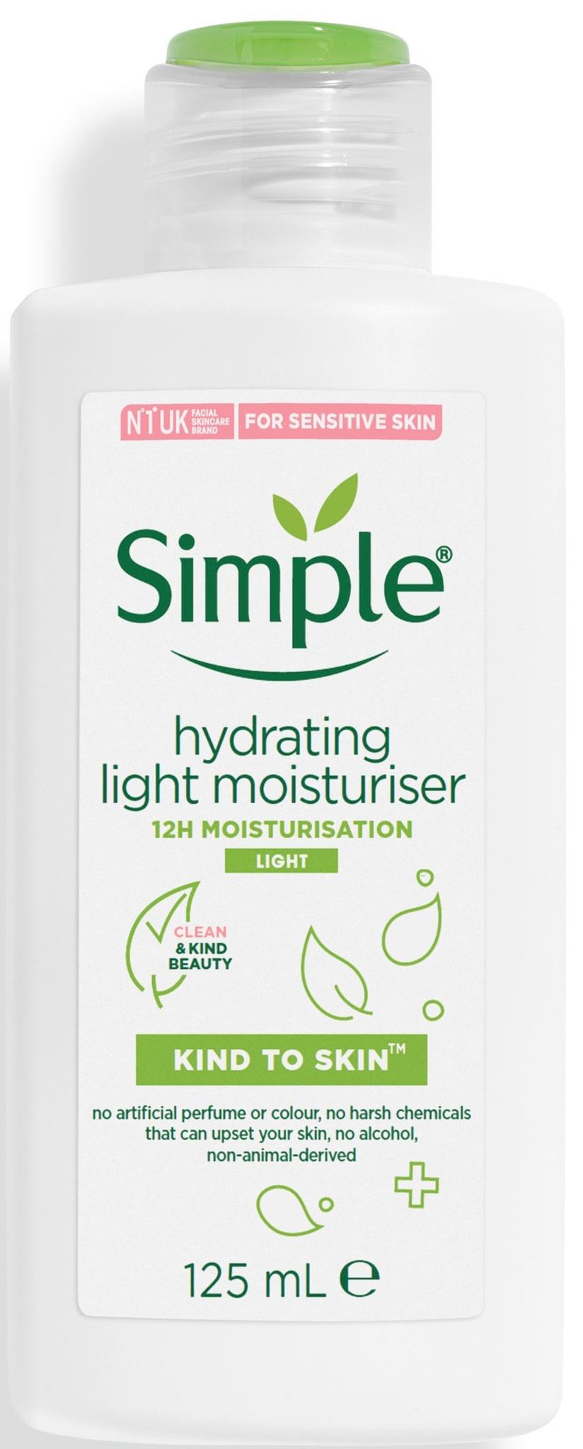 Simple Kind To Skin Hydrating Light Moisturiser (Uk)