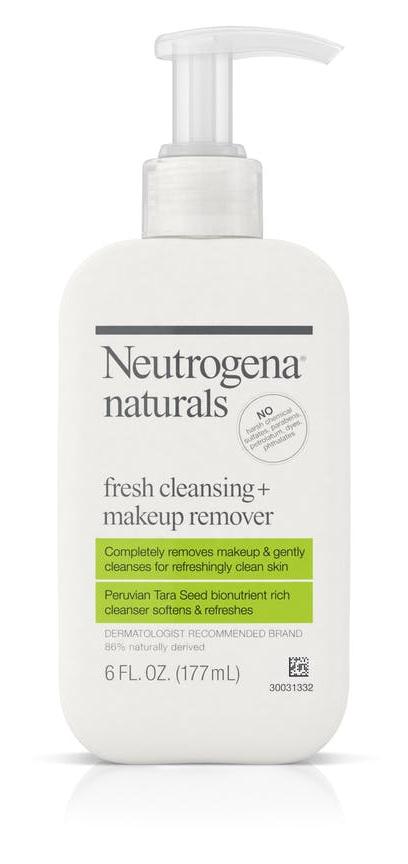 Neutrogena Naturals Fresh Cleansing + Makeup Remover