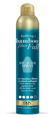 OGX Bodifying + Bamboo Fiber-Full Big Hair Spray